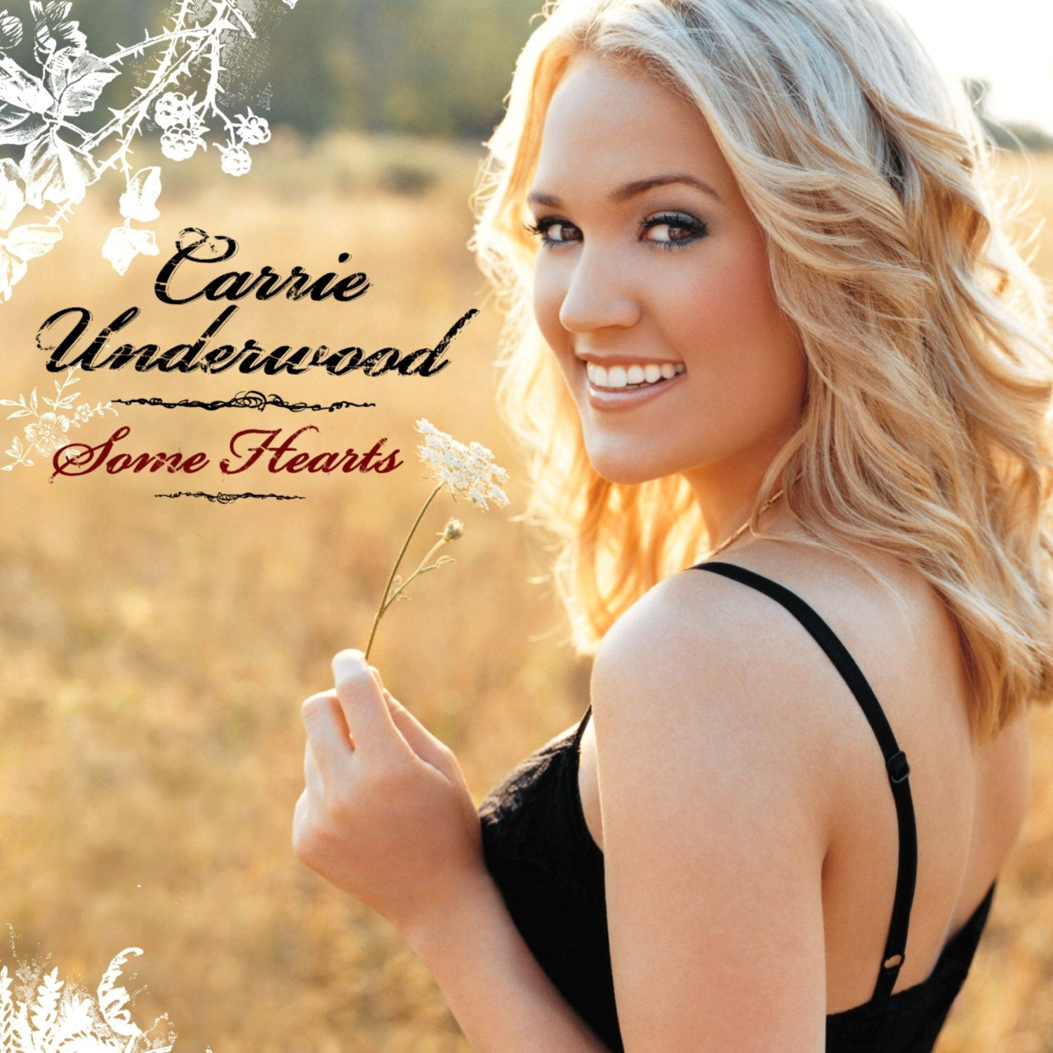 Encarte carrie underwood some hearts