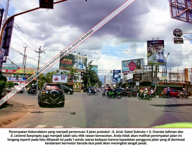 Jalanan di Purwokerto, Banyumas - Jawa Tengah