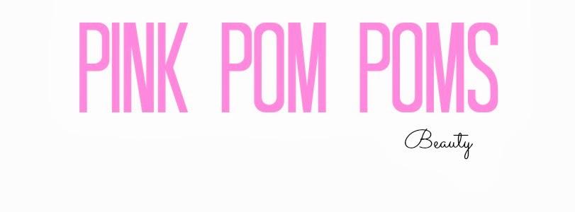 Pink Pom  Poms Beauty