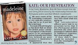 "Met police to bring ""new perspective"" to Madeleine McCann case/Algarvenewswatch Madeleine+book+cover"