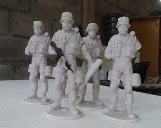 patung figure resin