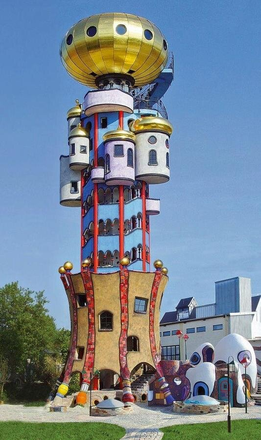 1000 images about hundertwasser on pinterest vienna for Architecture hundertwasser