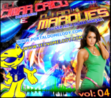 CD Mixado Djs AD. Marques e Cimar Caico 2012 Vol.04