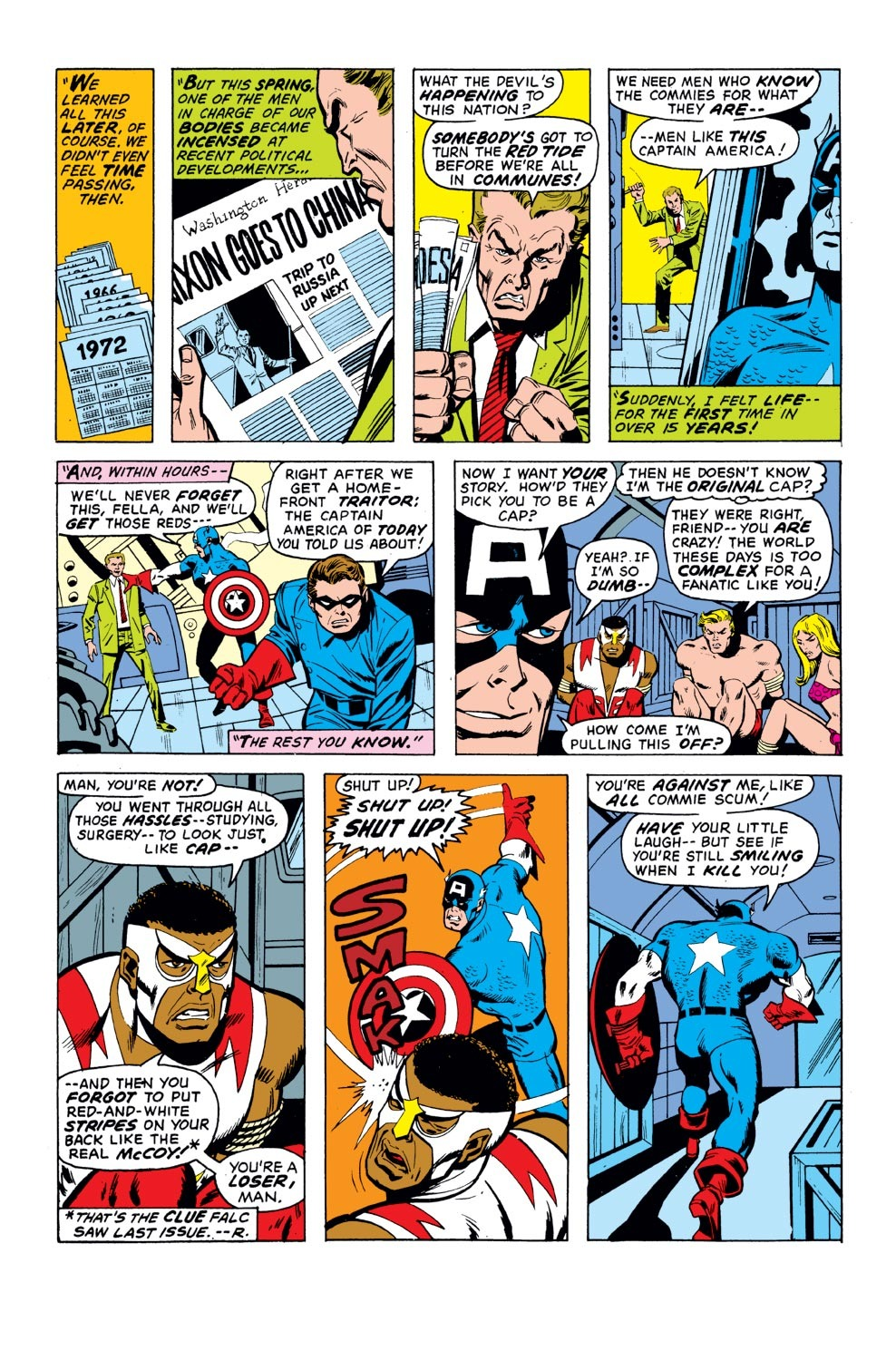 Captain America (1968) Issue #155 #69 - English 20