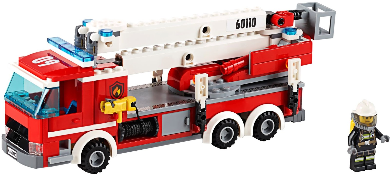 Detoyz Shop 2016 New Lego City 60110 Fire Station Set
