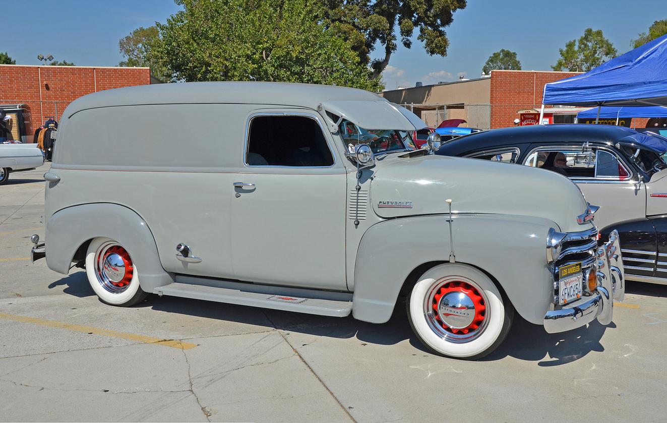 1949 chevy 1 2 ton panel truck eddie s parlor