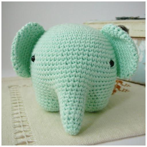 Pitusas & Petetes: Elefante Amigurumi {FREE PATTERN}