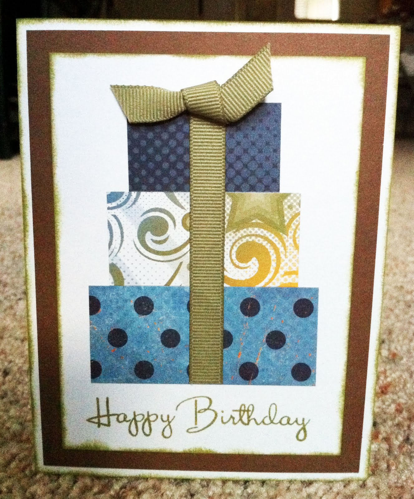 Playing With Paper: Scrapbooks, Cards & DIY: Masculine