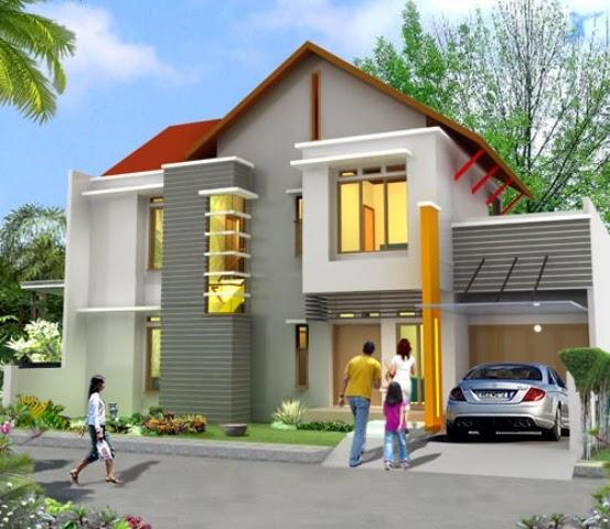 Inilah ide Desain Rumah Taman Indah 2015 yang indah