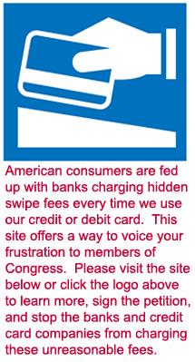 Unfair Swipe Fees