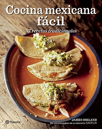 Libro Cocina Mexicana Fácil