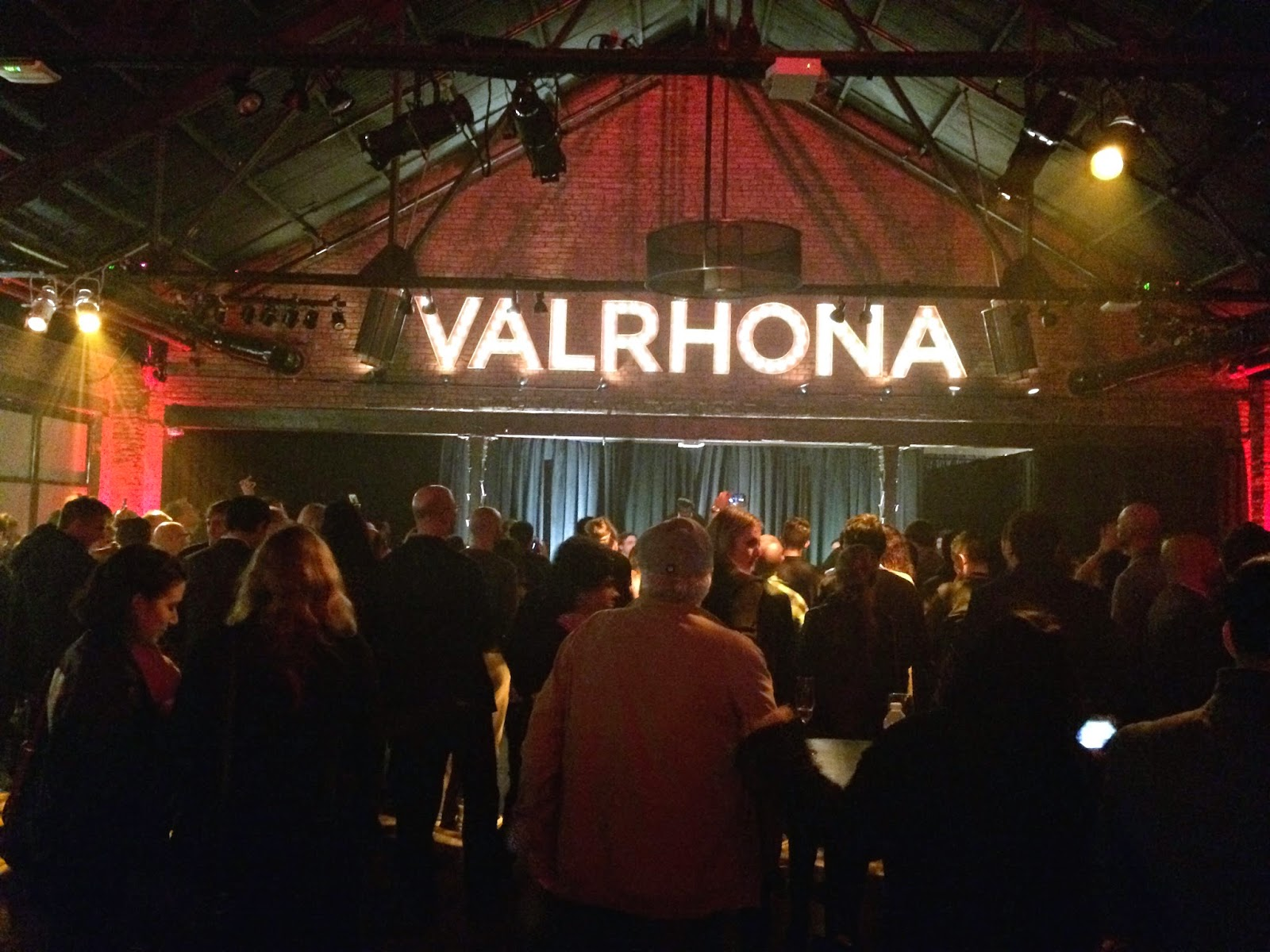 Valrhona party in Brooklyn