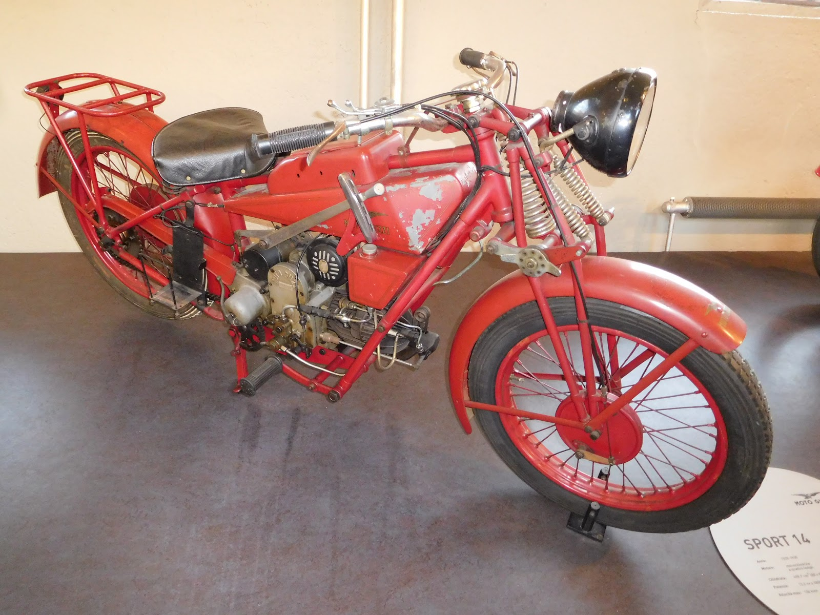 NYDucati: 1929-30 Moto Guzzi Sport 14