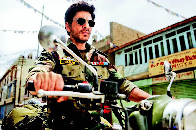 Shahrukh Army Officer look in YRF's next