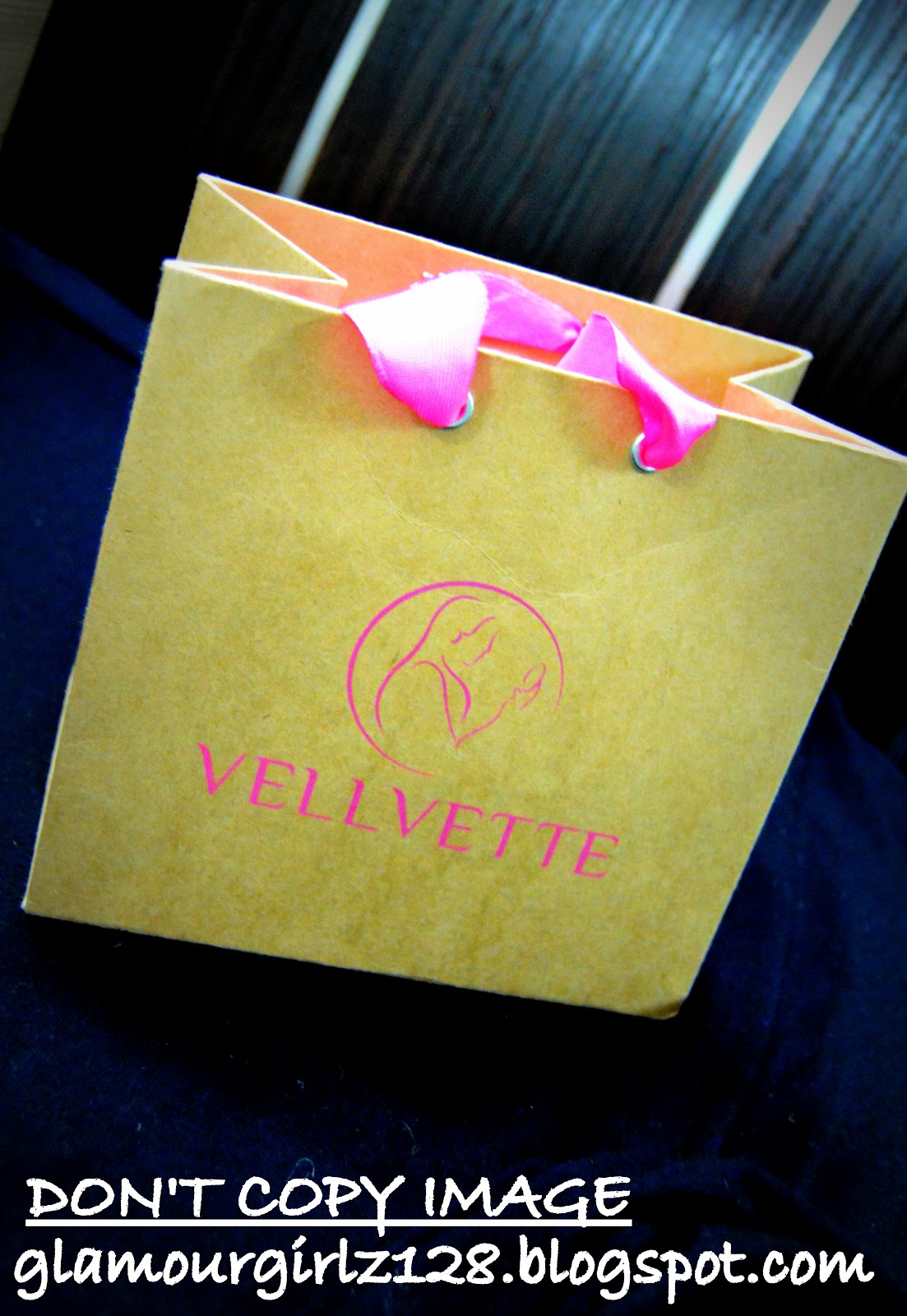 vellvette goodie bag