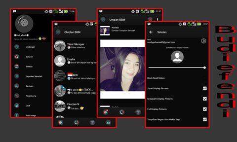 BBM MOD Black Red Line v2.10.0.31