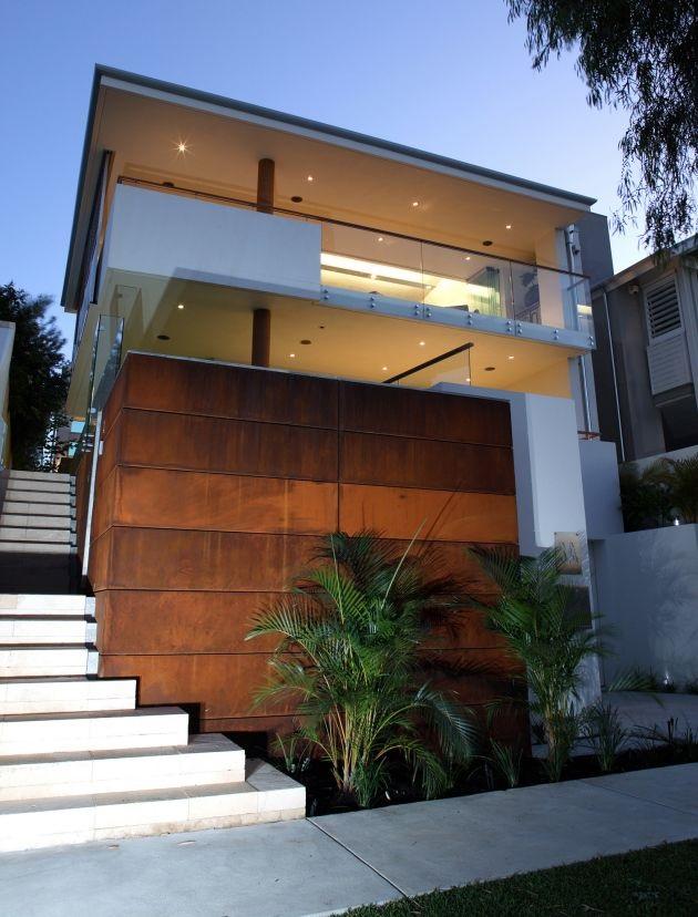 Fotos de fachadas de casas bonitas vote por sus fachadas for Oficinas pequenas modernas en casa