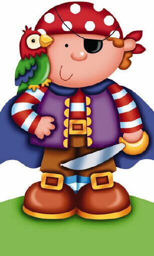 Dibujos ni os disfrazados para imprimir - Imagenes de piratas infantiles ...