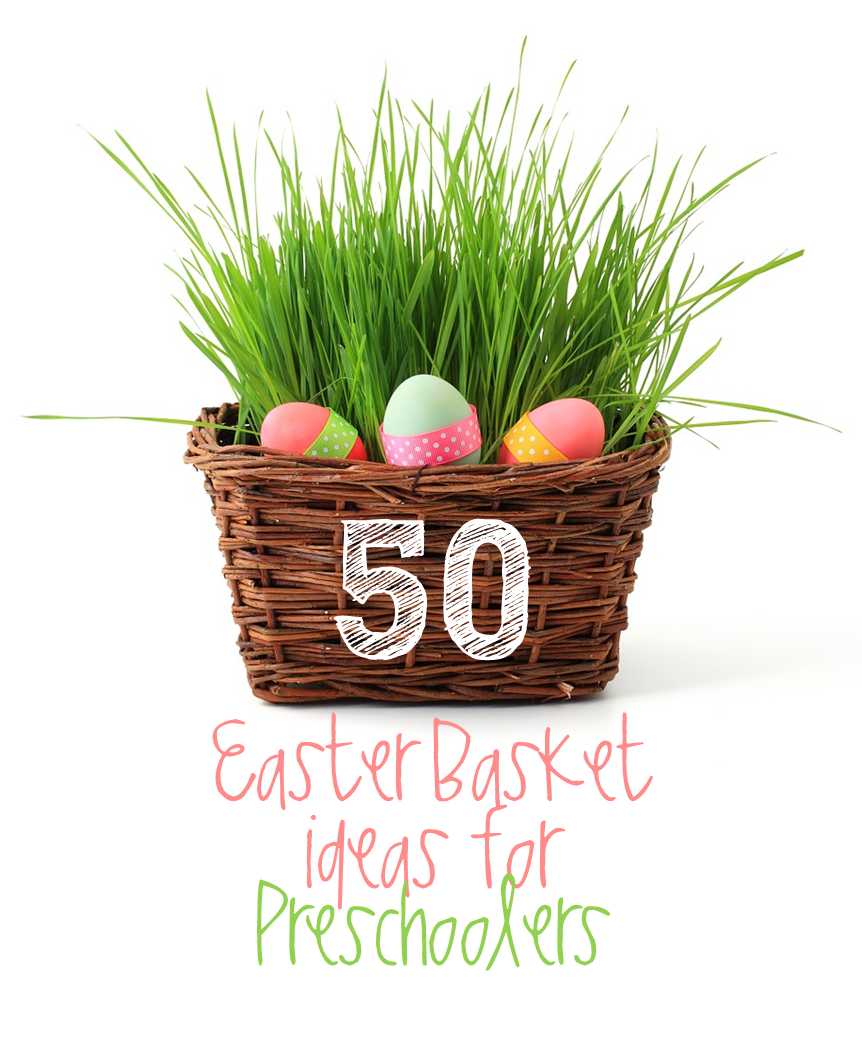 Preschool ponderings last minute easter basket ideas for preschoolers if youre anything like me you havent bought anything to put in those easter baskets yet no problem ive got you covered with a huge list of ideas to negle Choice Image