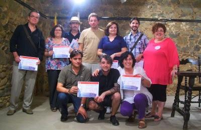 Fotografia de grup dels finalistes