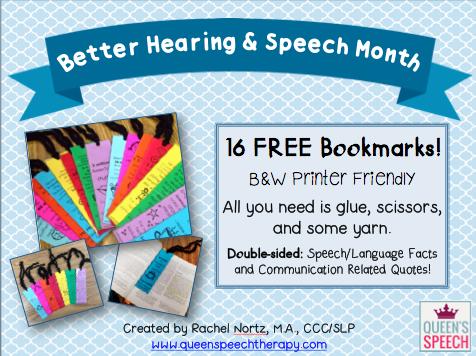 https://www.teacherspayteachers.com/Product/Better-Hearing-and-Speech-Month-BHSM-Bookmarks-FREE-1837344