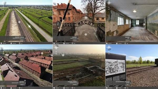 IMPACTANTE : Auschwitz se abre sus puertas... para un recorrido virtual