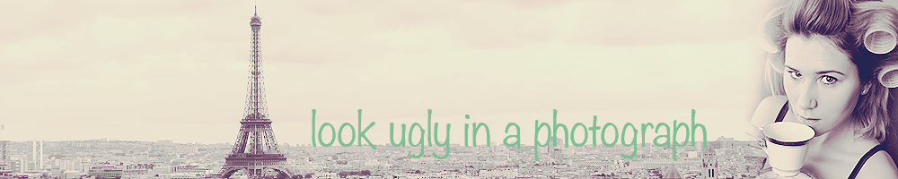 Look Ugly in a Photograph