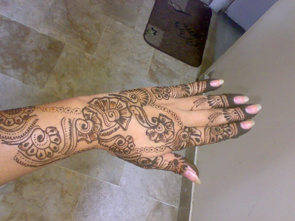 Mehndi Ideas Lahore : New pakistani mehndi designs henna