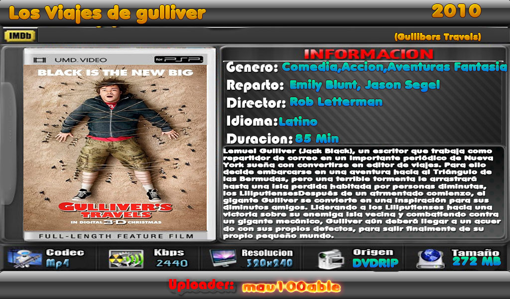 Los Viajes de Gulliver [2010][1 Link][iPod,Psp,Android] Gullivers_travels