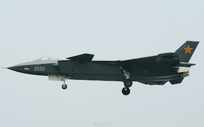 PLAAF J-20 Stealth Fighter