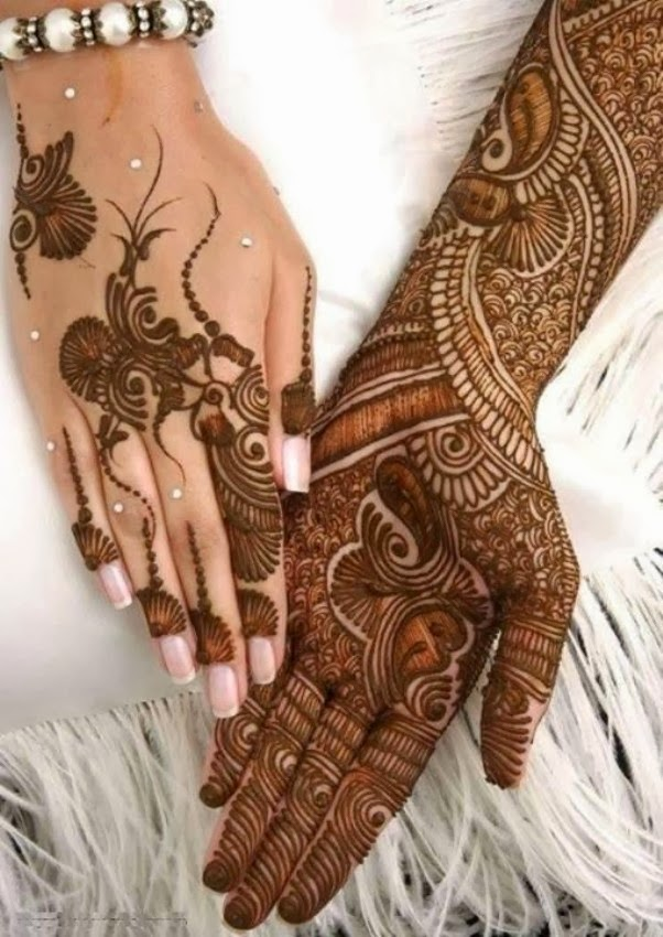 Mehndi Designs For Girls : Beautiful but simple mehndi design for girls all