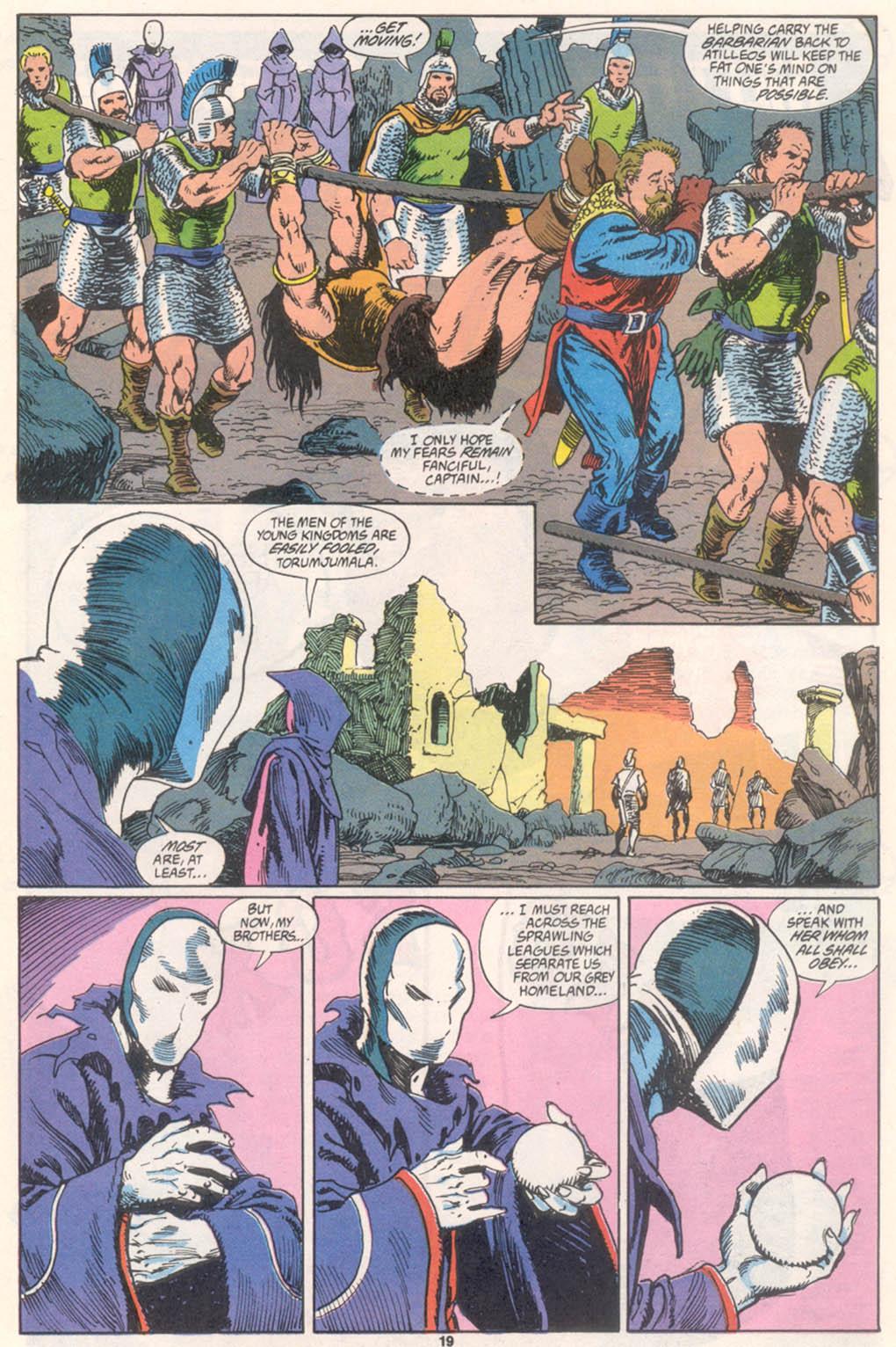 Conan the Barbarian (1970) Issue #255 #267 - English 16