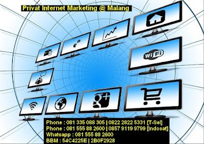 Biaya Harga Kursus, Pelatihan Privat Internet Marketing Murah  di Malang