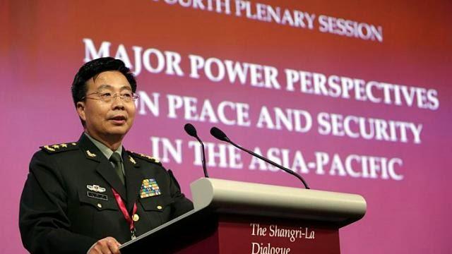 Đối thoại Shangri-La 2014: Trung Quốc như rùa dụt cổ