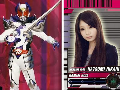 Foto Kana Mori, pemeran Kamen Rider Kiva-la dalam Movie Decade