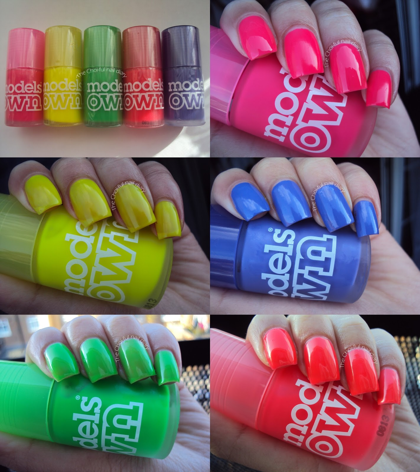 Models own Ice neon collection review and swatches (Picture heavy ...