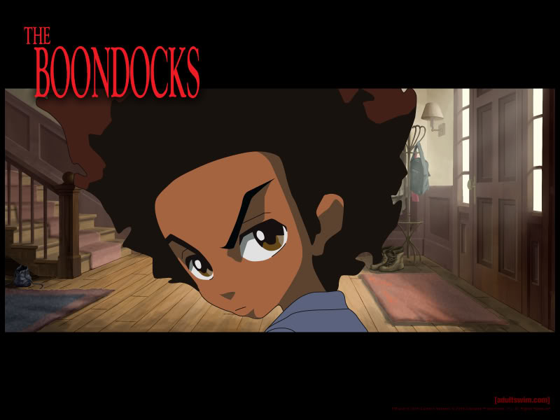 The Boondocks Comic Strip