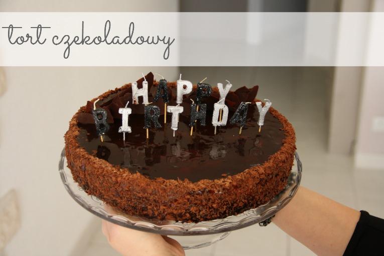 tort czekoladowy przepis, tort urodzinowy, blog kulinarny