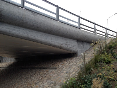 overpass in Hyllie for bike path