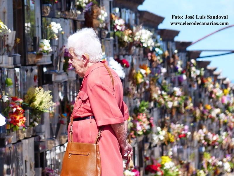 Día de cementerios, Las palmas de Gran Canaria