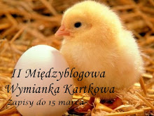 II Kartkowa Wymianka Blogowa ...Wielkanocna...