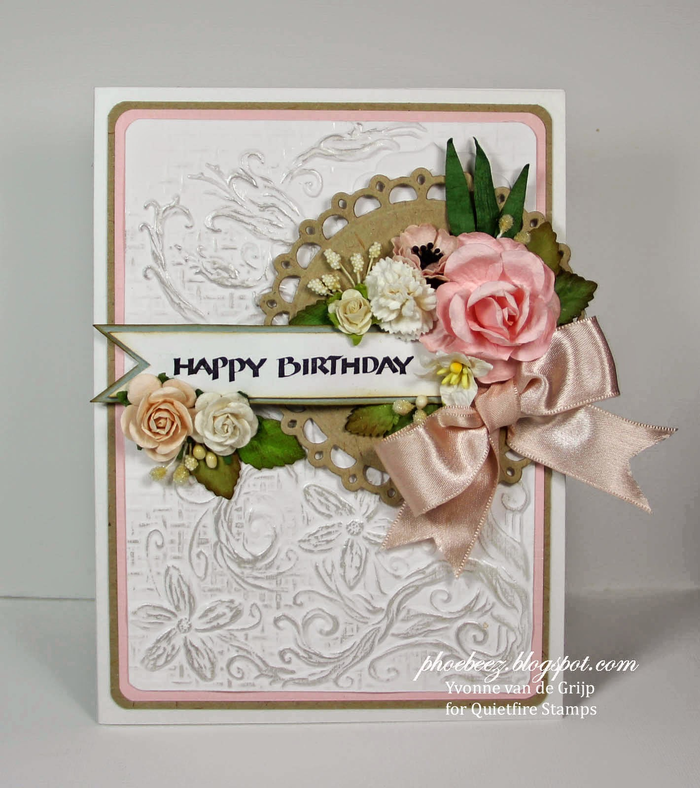 Quietfire creations happy birthday card today im sharing with you a romantic birthday card with the happy birthday plain simple sku 5899 set in combination with some spellbinders dies izmirmasajfo