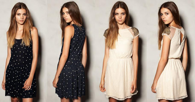vestidos de pull and bear nochevieja