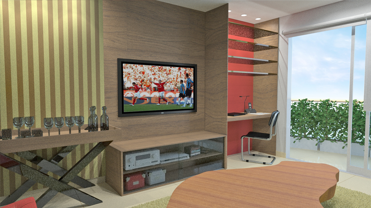 Decoracao De Sala Com Tv ~ decoracao de sala de tvprojeto de decoração para reforma de sala de