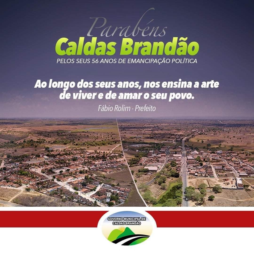 CALDAS BRANDÃO/PB
