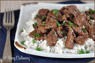 Very Culinary: Crock Pot Mongolian Beef