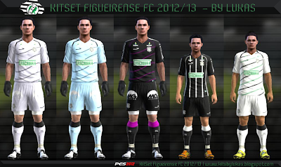 Untitled 1 PES 2012: Uniforme Figueirense FC 12/13