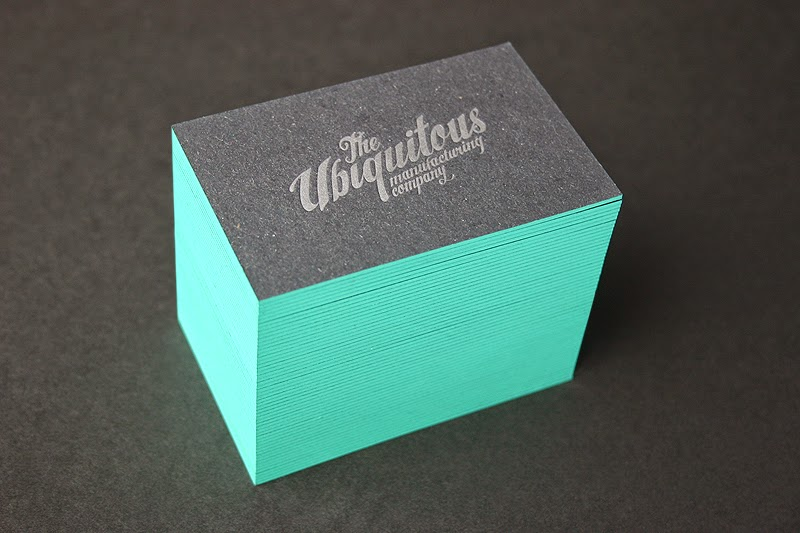 Luxury cards a number of businessmen are opting for embossing or debossing with painted edge business cards to generate a luxury brand image with their card embossing reheart Gallery