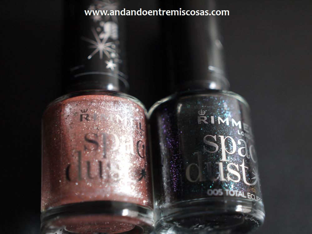 Esmaltes Space Dust De Rimmel