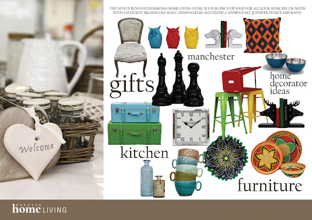 flyer design inspiration homewares sail and swan barossa home living